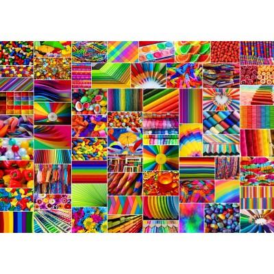 Puzzle Grafika-02913 Collage - Couleurs