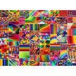 Puzzle  Grafika-02914 Collage - Couleurs