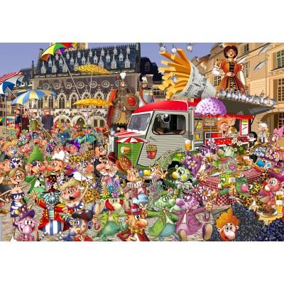 Puzzle Grafika-02916 Grande Braderie de Lille