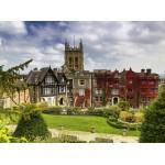 Puzzle  Grafika-02922 Abbey Hotel in Great Malvern