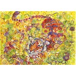 Puzzle   Swimming Tiger