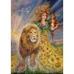 Puzzle  Grafika-T-00035 Signe du Zodiaque - Lion