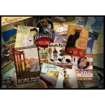 Puzzle  Grafika-T-00041 Collage d'Affiches