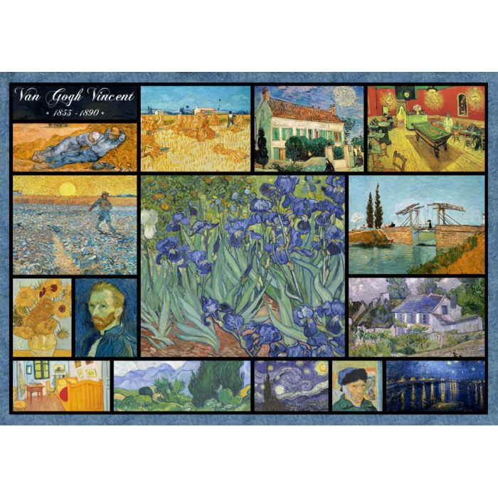 Collage - Vincent Van Gogh