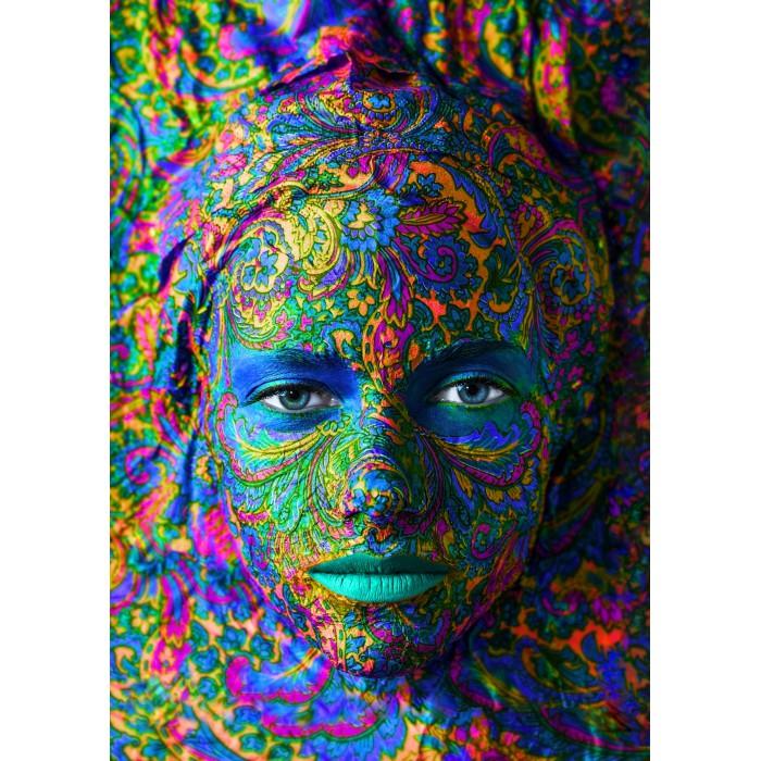 Face Art : Portrait de Femme