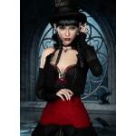 Puzzle  Grafika-T-00095 Femme Gothique aux Corbeaux