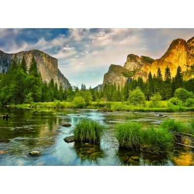 Puzzle Grafika-T-00127 Parc National de Yosemite, Californie, Etats-Unis