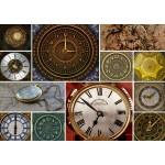 Puzzle  Grafika-T-00134 Collage - Horloges