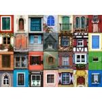Puzzle  Grafika-T-00137 Collage - Fenêtres