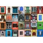 Puzzle  Grafika-T-00138 Collage - Fenêtres