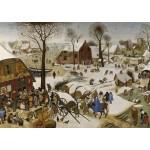 Puzzle  Grafika-T-00146 Brueghel Pieter : Le Dénombrement de Bethléem