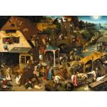 Puzzle  Grafika-T-00152 Brueghel Pieter : Proverbes Flamands, 1559