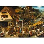 Puzzle  Grafika-T-00154 Brueghel Pieter : Proverbes Flamands, 1559