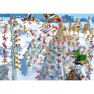 Puzzle Grafika-T-00184 François Ruyer - Escalade
