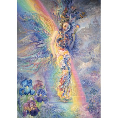 Puzzle Grafika-T-00194 Josephine Wall - Iris, Keeper of the Rainbow