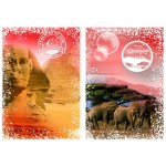Puzzle  Grafika-T-00206 Travel around the World - Afrique, Egypte et Kenya