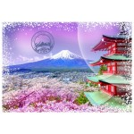 Puzzle  Grafika-T-00207 Travel around the World - Japon