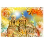 Puzzle  Grafika-T-00213 Travel around the World - Russie