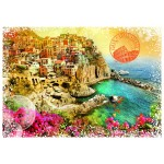 Puzzle  Grafika-T-00215 Travel around the World - Italie