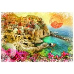 Puzzle  Grafika-T-00216 Travel around the World - Italie