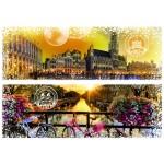 Puzzle  Grafika-T-00232 Travel around the World - Belgique et Pays-Bas