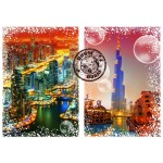 Puzzle  Grafika-T-00237 Travel around the World - Dubaï