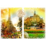 Puzzle  Grafika-T-00242 Travel around the World - France