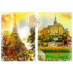 Puzzle  Grafika-T-00243 Travel around the World - France