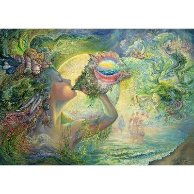 Puzzle Grafika-T-00245 Josephine Wall - Call of the Sea