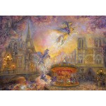 Puzzle  Grafika-T-00279 Josephine Wall - Magical Merry Go Round