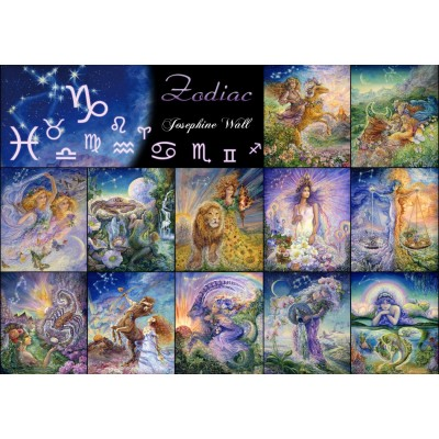 Puzzle Grafika-T-00316 Signes du Zodiaque