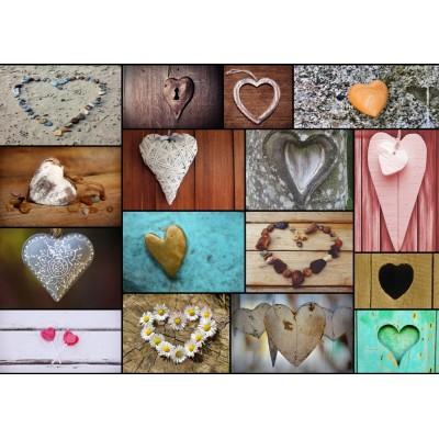 Puzzle Grafika-T-00320 Collage - Love