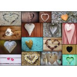 Puzzle  Grafika-T-00320 Collage - Love
