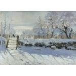 Puzzle  Grafika-T-00322 Claude Monet : La Pie, 1868-1869