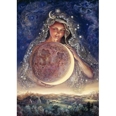Puzzle Grafika-T-00351 Josephine Wall - Moon Goddess