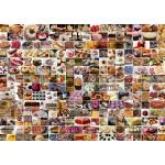 Puzzle  Grafika-T-00372 Collage - Gâteaux