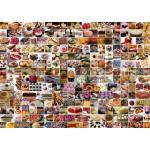 Puzzle  Grafika-T-00373 Collage - Gâteaux