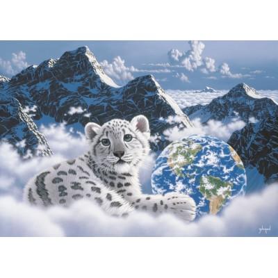 Puzzle Grafika-T-00387 Schim Schimmel - Bed of Clouds