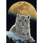 Puzzle  Grafika-T-00411 Schim Schimmel - Moon Leopard