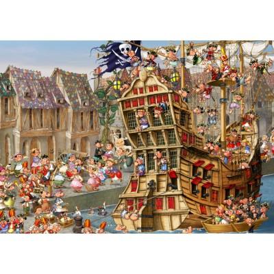 Puzzle Grafika-T-00480 François Ruyer - Pirates