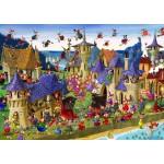 Puzzle  Grafika-T-00489 François Ruyer - Sorcières
