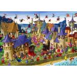 Puzzle  Grafika-T-00491 François Ruyer - Sorcières