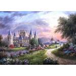 Puzzle  Grafika-T-00496 Dennis Lewan - Inverary Castle