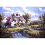 Puzzle  Grafika-T-00501 Dennis Lewan - Swan Creek Cottage