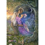 Puzzle  Grafika-T-00541 Josephine Wall - Love Between Dimensions