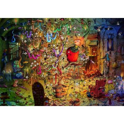 Puzzle Grafika-T-00563 François Ruyer - Sorcière