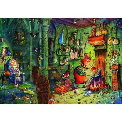 Puzzle Grafika-T-00583 François Ruyer - Dans la Cuisine!