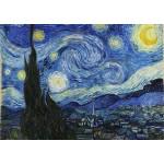 Puzzle  Grafika-T-00647 Vincent Van Gogh - La Nuit étoilée, 1889