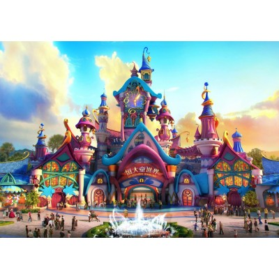 Puzzle Grafika-T-00670 Fairyland