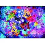 Puzzle  Grafika-T-00745 Fleurs et Papillons Colorés